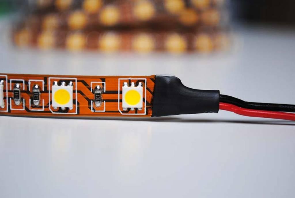 Tira LED Flexible 5050 60 LED/m Azul - por 50cm