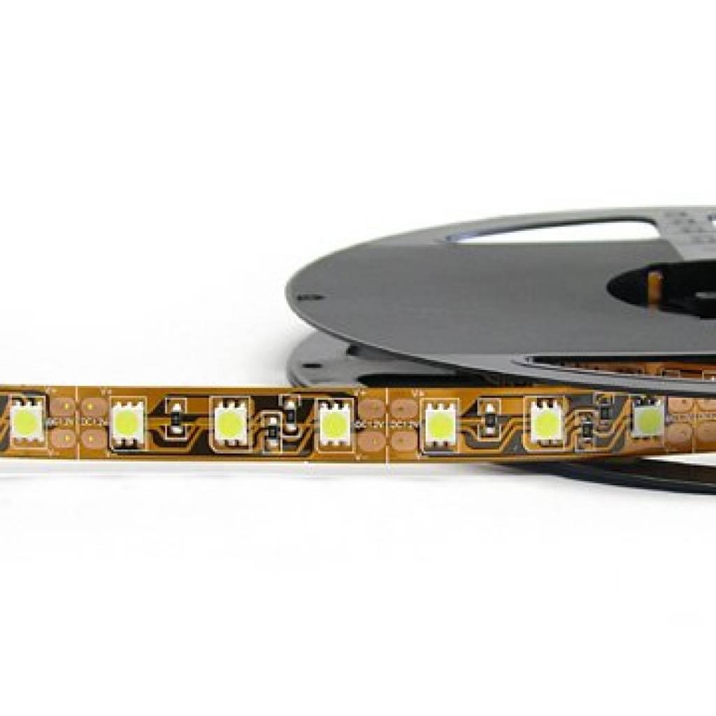 LED en bande auto-adhésive 5050 60 LED/m Vert - par 50cm