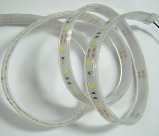 LED Streifen Wasserdicht 5050 60 LED/m Weiss - je 50cm