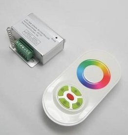 Controlador RGB con rueda táctil - Blanco
