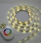 RGB Controller für RGB LED Streifen mit Touch-Fernbedienung - Weiß