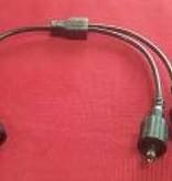Cavo Splitter 5.5mm DC (1 -> 2) Impermeabile