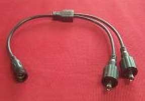 Splitter-câble (1 -> 2) - Étanche