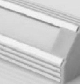 Aluminium Winkelprofil 1 Meter - 45 Grad