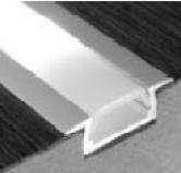 Aluminium LED Strip Profiel Inbouw 1 meter