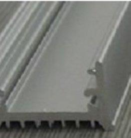 Profil en aluminium 1 mètre - 9 mm haute
