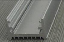 Aluminium Schiene 1 Meter - 9mm hoch