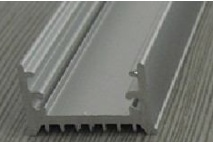 Profilo in alluminio 1 Metro 9mm alta