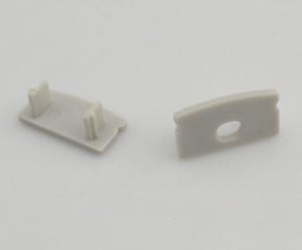 Cappuccio terminale per profilo in alluminio 5mm