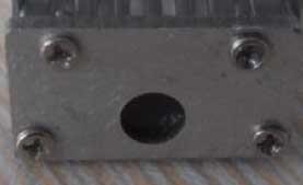Cappuccio terminale per profilo in alluminio 9mm
