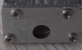 Embout pour profil en aluminium 9mm