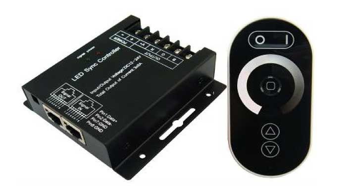LED Atenuador Sync Con control remoto Touch