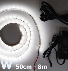 Bande LED Blanc 5050 60 LED / m Kit