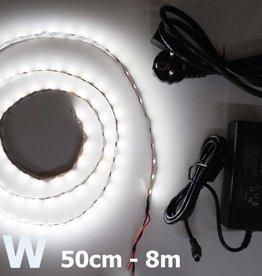 Blanco 5050 60 LED / m completa