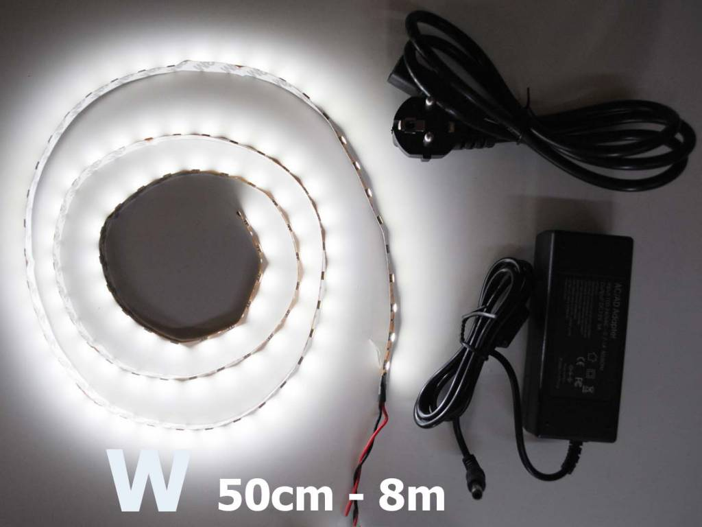 White 5050 60 LED/m Complete