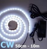 Kalt Weiß 60 LED / m Komplett