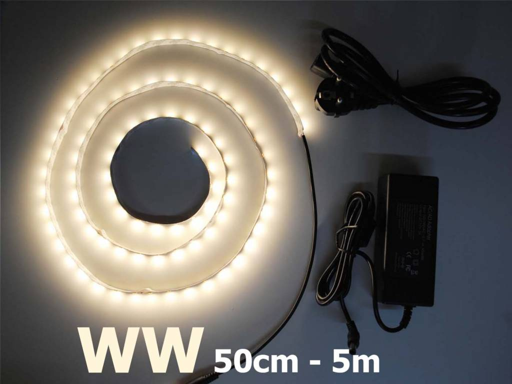 Warm White 5630 60 LED/m Complete