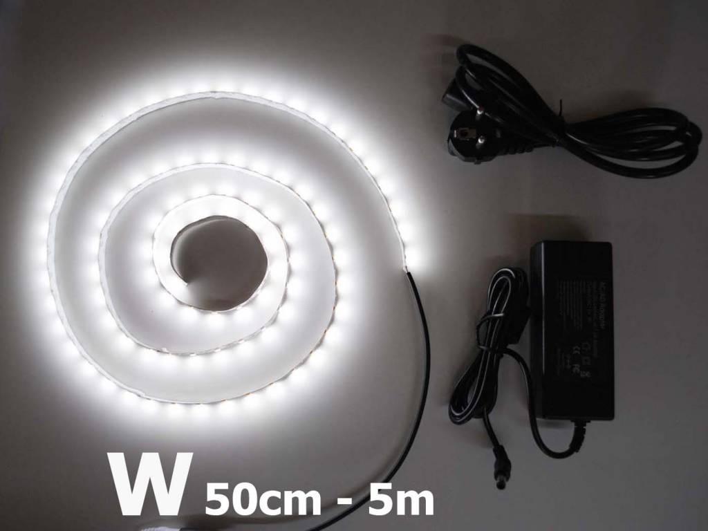 Blanco 5630 60 LED / m completa