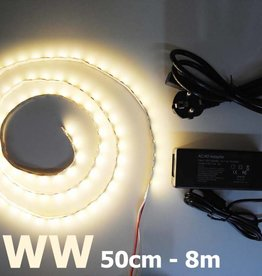 Bande LED Blanc Chaud 5050 60 LED / m Kit