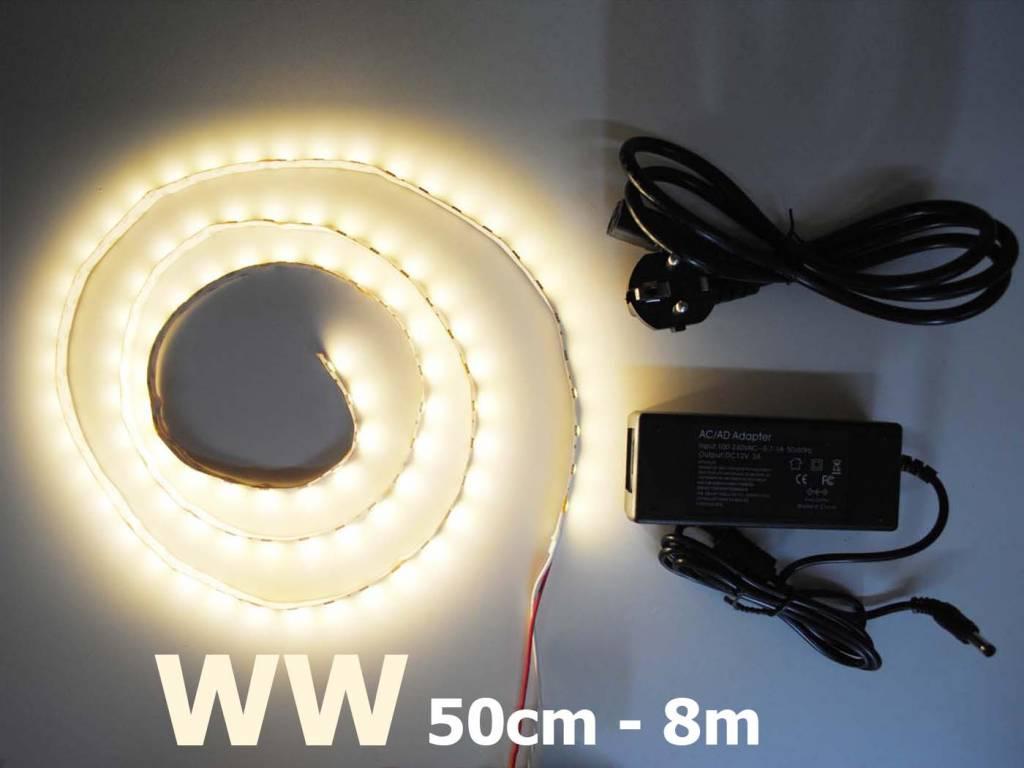 Warm Weiß 5050 60 LED / m Komplett