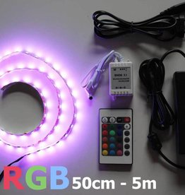 Bande LED RVB Multicolore 60 LED / m Kit
