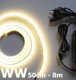 Warm Weiß 120 LED / m Komplett