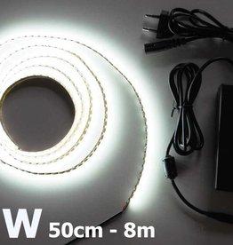 Bianco 120 LED / m completo