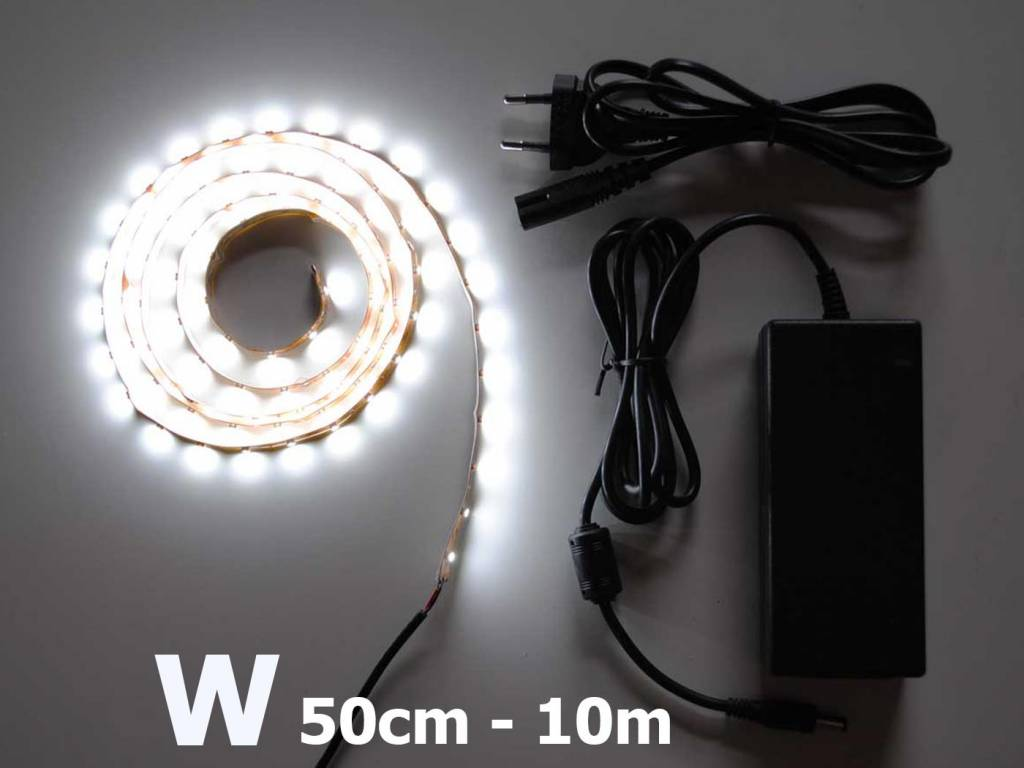 Blanco 60 LED / m completa