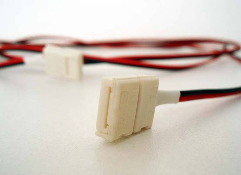 Cavo con connettori 15 cm per strisce LED flessibili