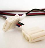 15 cm Anschlusskabel für flexible RGB LED-Streifen.