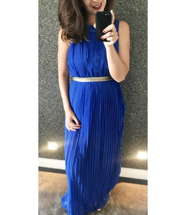 jurk kobaltblauw