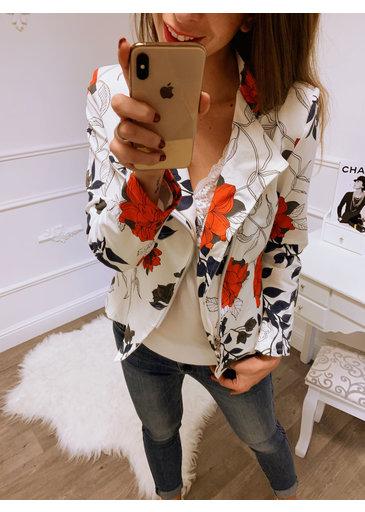 Flower Jacket Wit