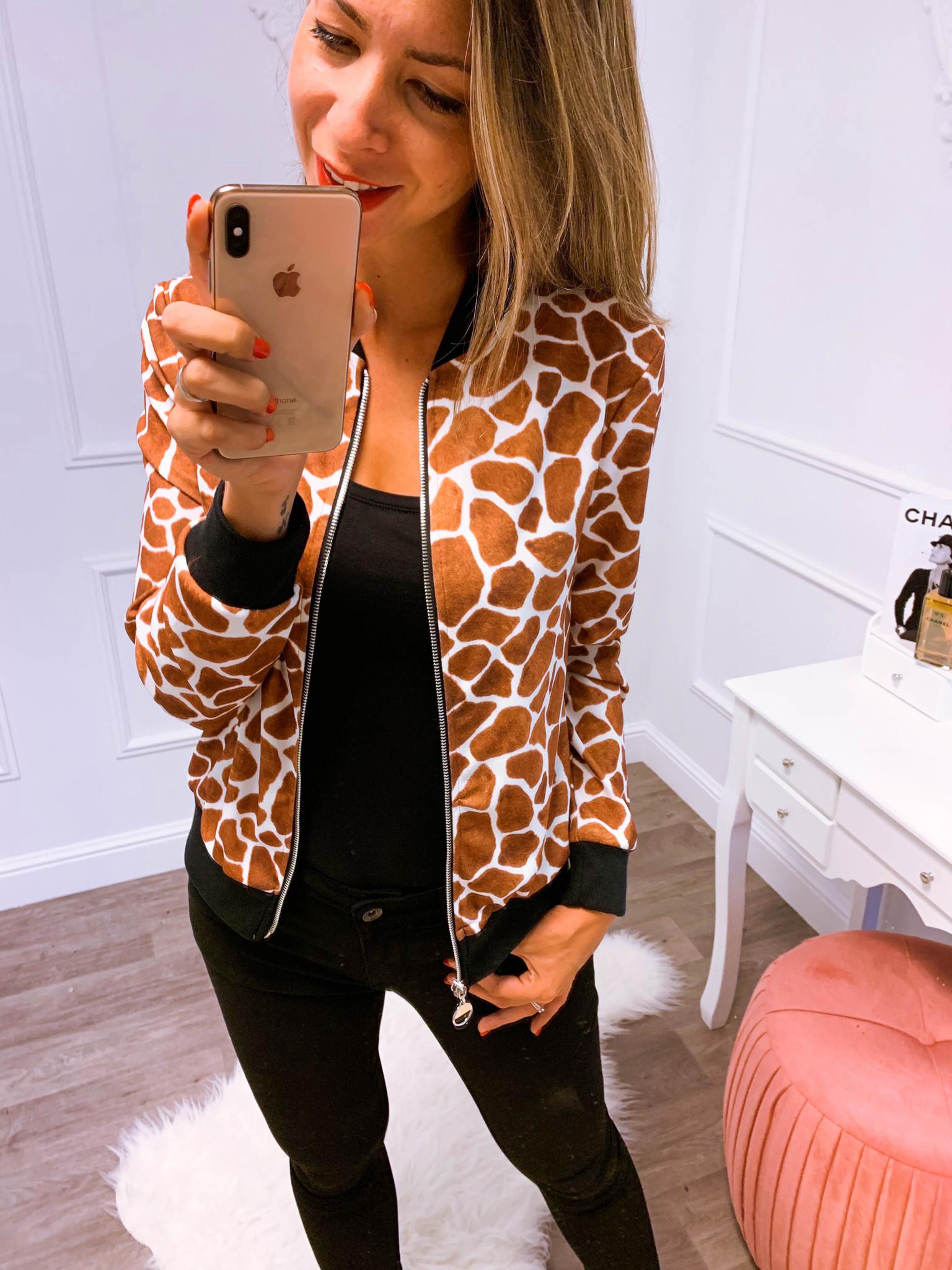 Giraffe Vest Camel