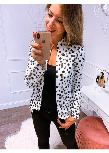 Suède Blazer Cheetah Wit
