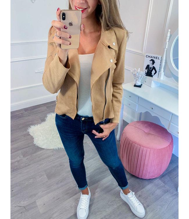 Suède jasje Camel