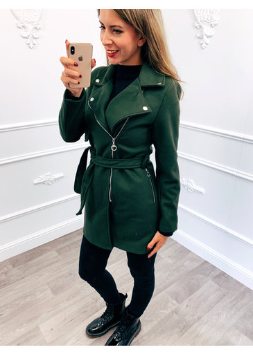 Ladies Coat Groen