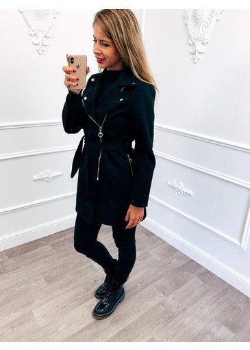 Ladies Coat Zwart