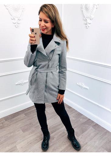 Ladies Coat Grijs