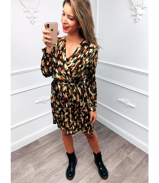 Leaf Gold Dress
