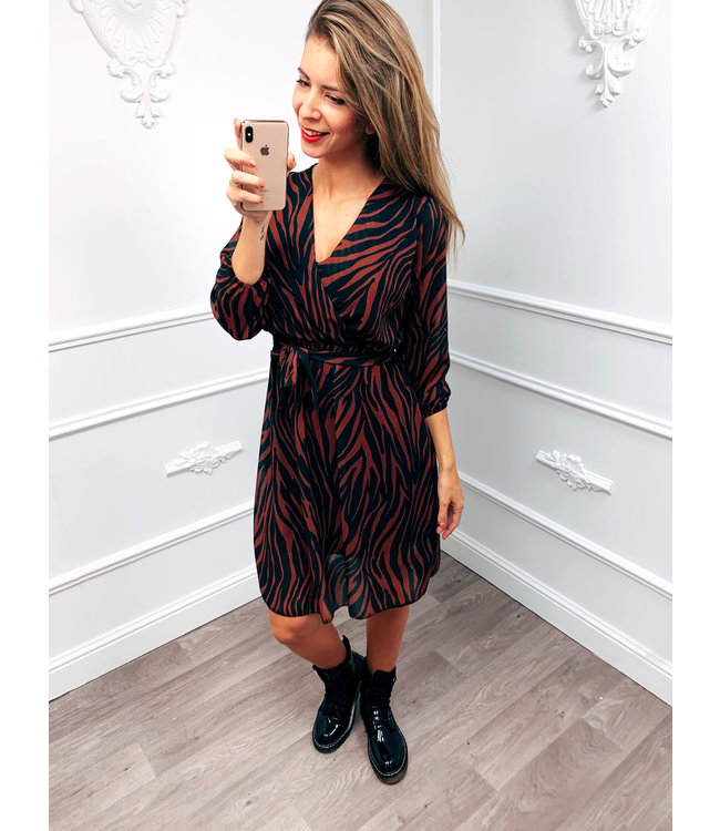 Zebra Chique Dress
