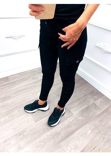Pocket Jeans Zwart