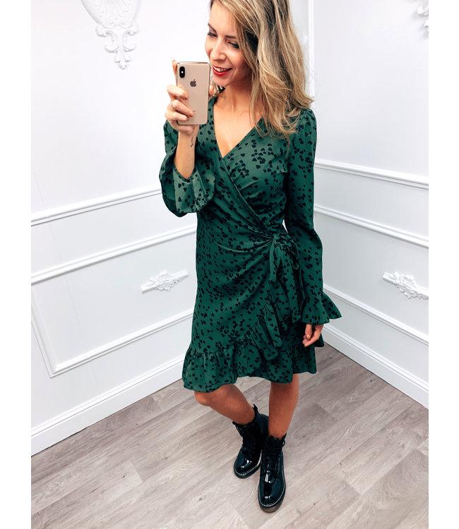 Wrap Dress Groen