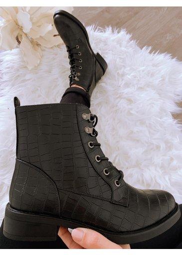 Snake Boots Zwart  2.0