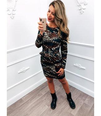 Strik Jurk Style Dress Bruin