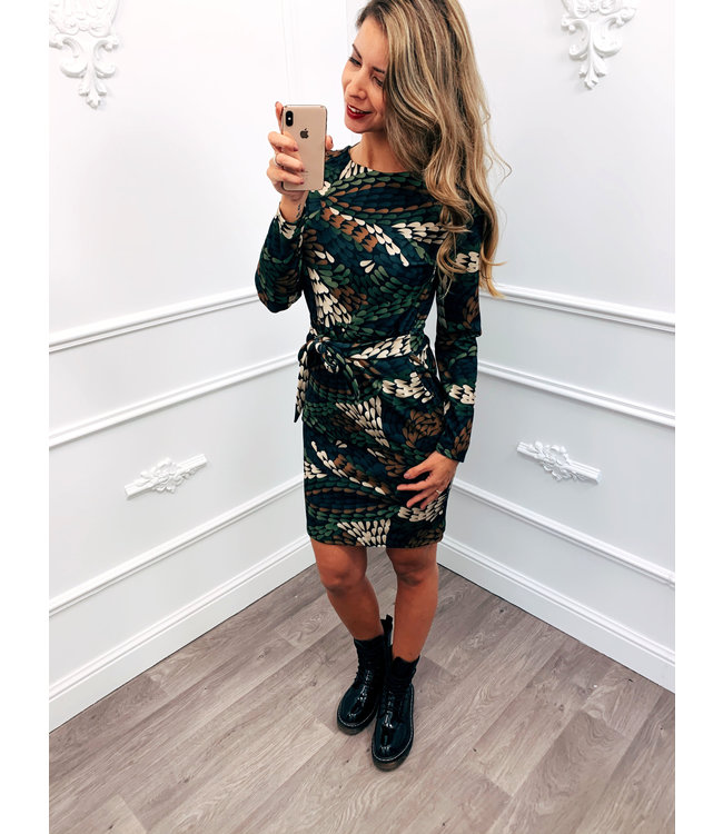 Strik Jurk Style Dress Groen