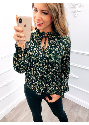 Camouflage Blouse Groen