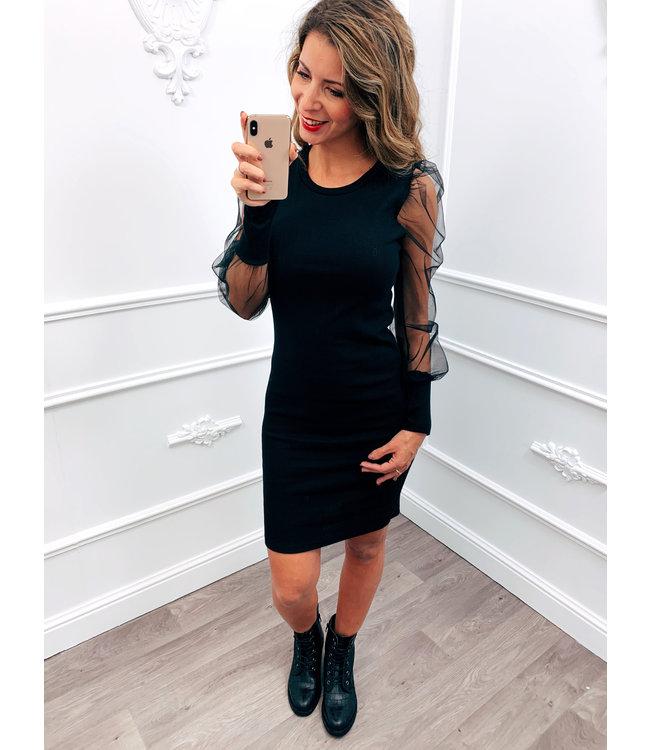 Tule Dress Zwart