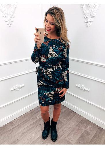 Strik Jurk Style Dress Blauw