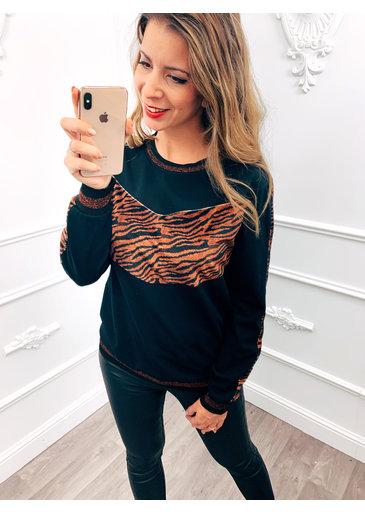 Tiger Velvet Trui