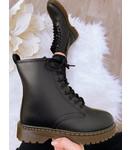 Boots Mat Zwart